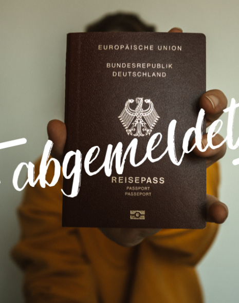 Aus Deutschland abmelden